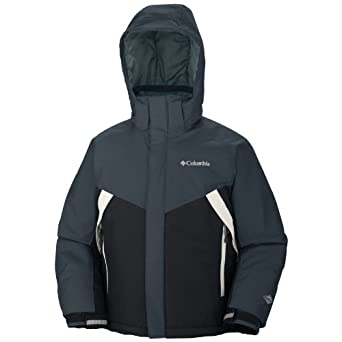 Columbia Glacier Slope Jacket - Boys' Black, 14/16