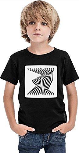 Kaiser Chiefs Falling Awake Ragazzi T-shirt Stylish T-Shirt For Boys Fashion Fit Kids Printed Clothes By Genuine Fan Merchandise 2/3 yrs