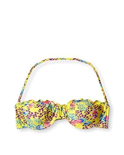 Sofia by ViX Women's Ripple Bandeau Bikini Top