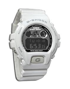 Casio G-Shock Mirror-Metallic White Mens Digital Watch - Casio DW6900NB-7