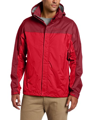 Marmot Men's Precip Waterproof Jacket - Team Red, Medium