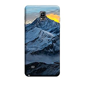 TransMute Premium Printed Back Case Cover With Full protection For Samsung Note 4 (Designer Case)
