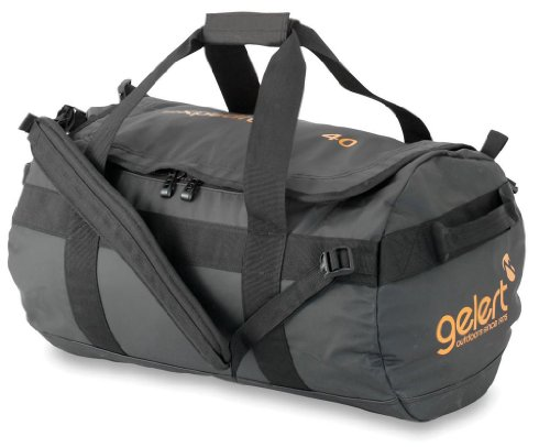 Gelert Reisetasche Expedition Cargo, black/orange,