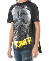 Dark Knight Batman Mens Cape Tee