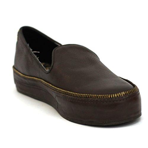lucky-brand-cremallera-zapatos-de-detalles-en-piel-reino-unido-tamano-35-nueva-llegada