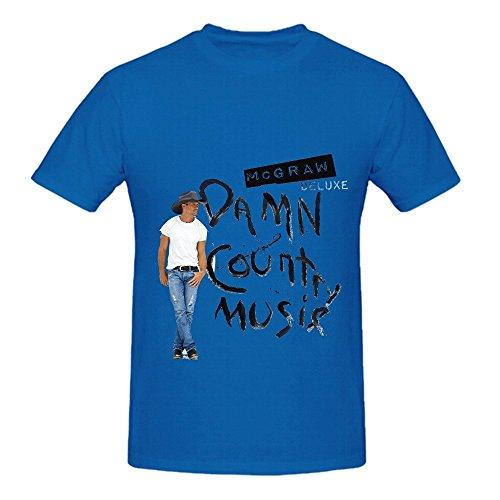 tim-mcgraw-damn-country-music-roll-men-o-neck-casual-shirts-blue
