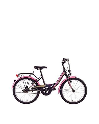 SCH Bicicleta Mirta 20″ 1 V Negro / Rosa