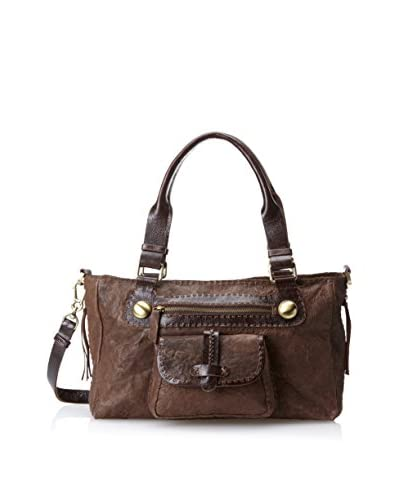 Carla Mancini Women's Coraline Satchel, Espresso As You See