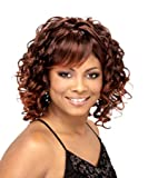 ISIS MATHILDA Quick weave half wig with a bang, T4/27