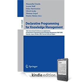Declarative Programming for Knowledge Management