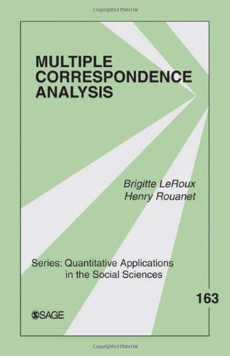 Multiple Correspondence Analysis: 163 (Quantitative Applications in the Social Sciences)
