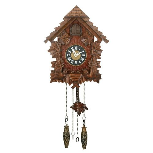 Traditional cuckoo quartz clock widdop bingham ww6760 ebay - Cuckoo pendulum wall clock ...