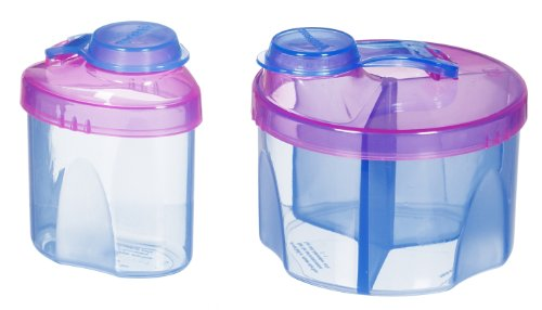 Read About Munchkin Powdered Formula Dispenser Combo Pack, Colors May Vary