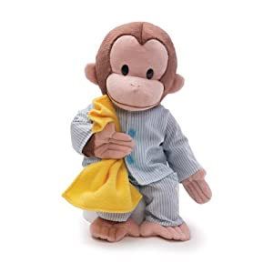 "Gund Curious George Dressed in Pajamas 12"" Plush by Gund"