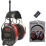 SKS 1180 Digital mit Radio FM/AM Kapselgehörschutz, Kopfhörer + MP3 Anschluss