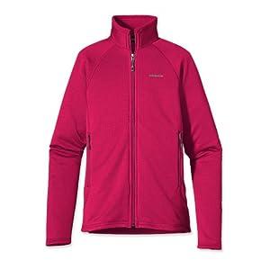 Patagonia Ladies R1® Full-Zip Fleece Jacket Jeweled Berry by Patagonia