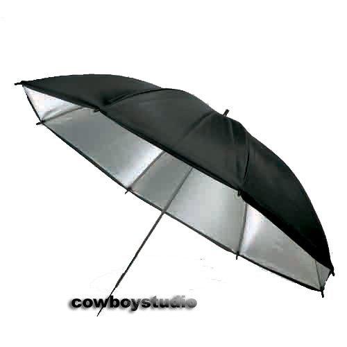 Cowboystudio 40 inch Reflective Black and Gold Photography Studio Umbrella