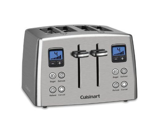 Cuisinart CPT-435 Countdown 4-Slice Stainless Steel Toaster (Frigidaire Toaster compare prices)