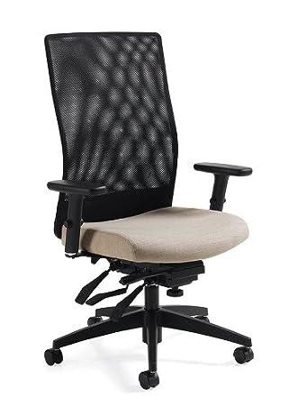 Global 2220-3 Weev Mesh Office Chair Blue Bayou