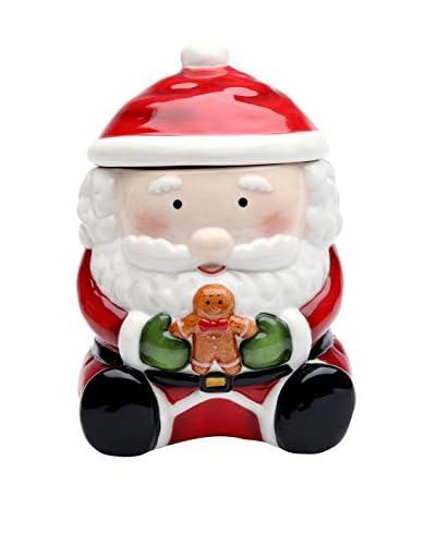 Cosmos Santa with Gingerbread Man Cookie Jar