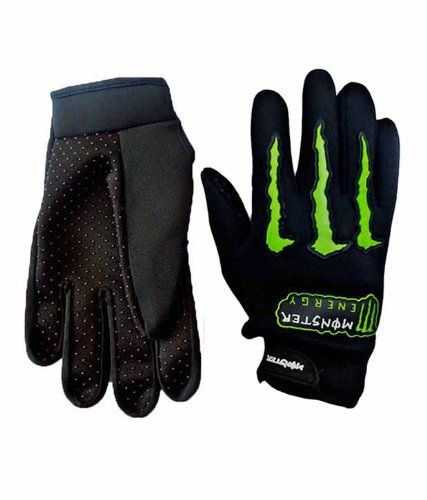 One-Stop-Shop – Monster Motorcycle Hand Gloves (Black)