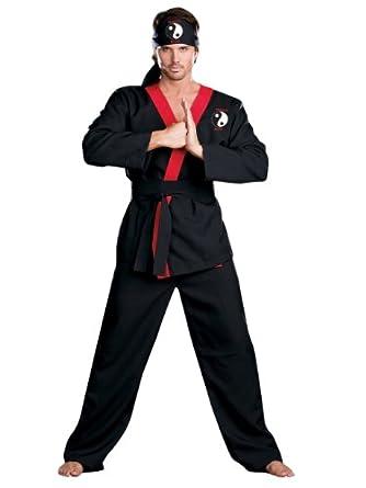 Mens Karate Costume Samurai Athlete Sports Costume Theatre Costumes
