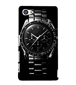 Cool Wrist watch 3D Hard Polycarbonate Designer Back Case Cover for Sony Xperia Z5 Premium :: Sony Xperia Z5 Premium Dual