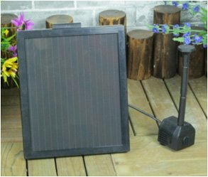 MagaMallGroup 1.4-Watt Solar Water Pump with 12