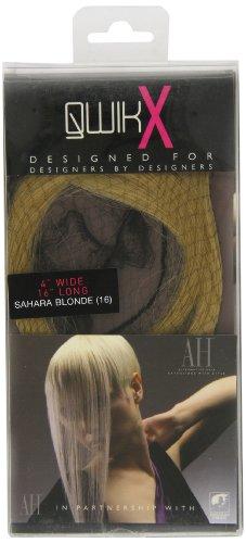 Qwik X 100-Remi Percent Indian Extension capelli veri, colore: biondo, 40 e 41 cm, colore: sahara