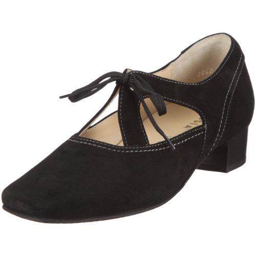 Hassia Bologna, Weite H Pumps Womens Black Schwarz/schwarz Size: 37 1/3