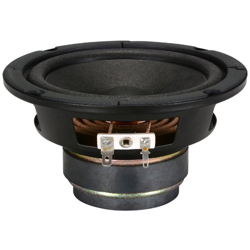 """5"""" Paper Cone Midbass Shielded Woofer 8 Ohm"""