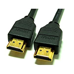 HDMI to HDMI Cable v1.3 with Gold Plated Connectors 1.5m - Black