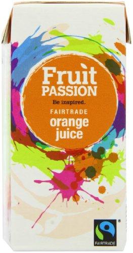 Fruit Passion Orange Juice 200ml (Pack of 27)