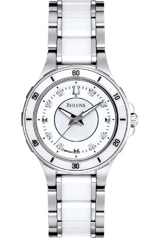 Bulova Ladies Diamond Watch 98P124