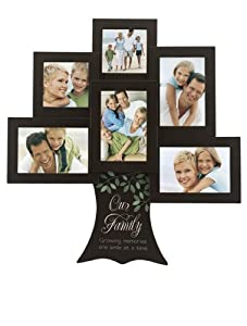 Malden 4379-60 Our Family Tree - Growing Memories One Smile Great Woods Frame, 6 Opening