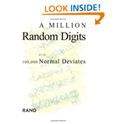 Funny product A Million Random Digits with 100,000 Normal Deviates