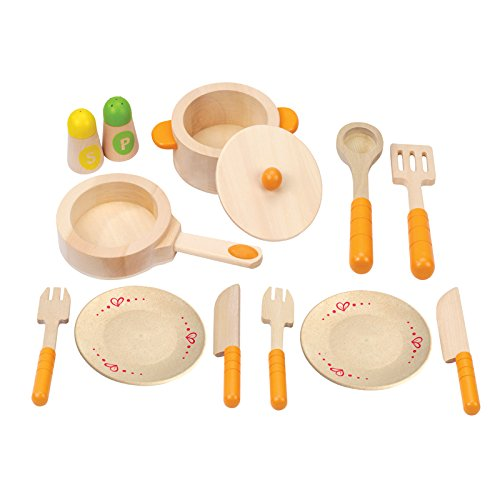 Hape - Playfully Delicious - Gourmet Kitchen Starter Wooden Play Set