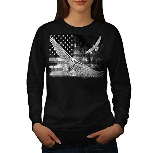 american-eagle-flag-us-falcon-women-new-black-l-sweatshirt-wellcoda