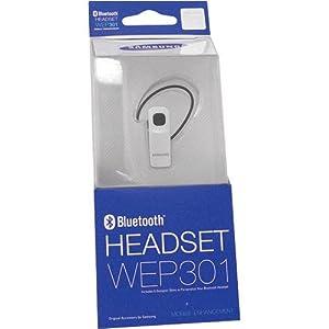 Amazon Com Samsung Wep 301 Bluetooth Headset Silver