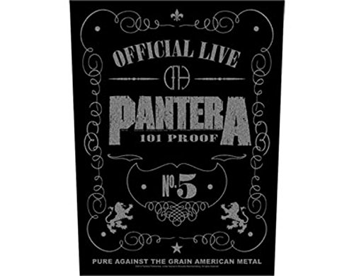 Pantera - 101 Proof - Grande Toppa/Patch
