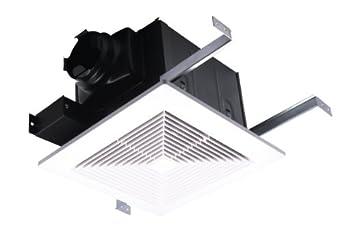 """AirZone Fans PA1100V Premium Ultra Quiet Exhaust Ventilation Fan, AC Motor, 1.3 Sones, 1100 CFM, 4"""" Duct"""