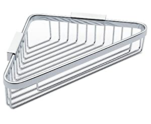Motiv 554D/PC Hotelier Deep 9-Inch Corner Basket, Polished Chrome