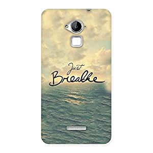 Impressive Just Breath Multicolor Back Case Cover for Coolpad Note 3