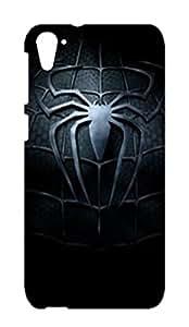 HTC Desire 826 Hard Case Back Cover - Black Colour Printed Designer Cover - HTCD826BLKB147