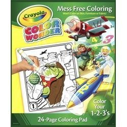 Crayola Color Wonder Learning Numbers Coloring Pad Refill Book