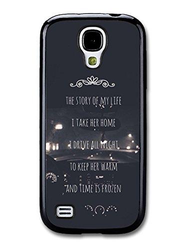 One Direction Harry Styles Niall Horan Story Of My Life Lyrics Car custodia per Samsung Galaxy S4 mini