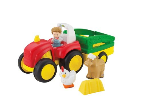 Fisher-Price Little People Tow 'n Pull Tractor - 1