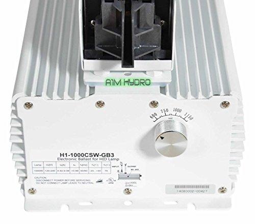 Omega V-Pro 1000W 240V De Double Ended Grow Light Reflector Fixture Hydroponics