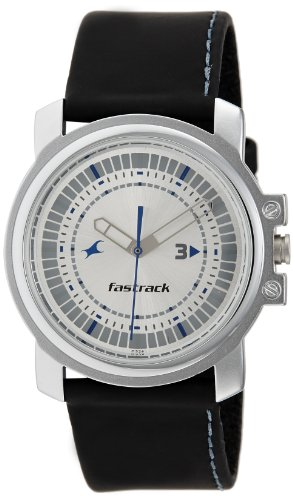 Fastrack Economy Analog Silver Dial Mens Watch - NE3039SL01