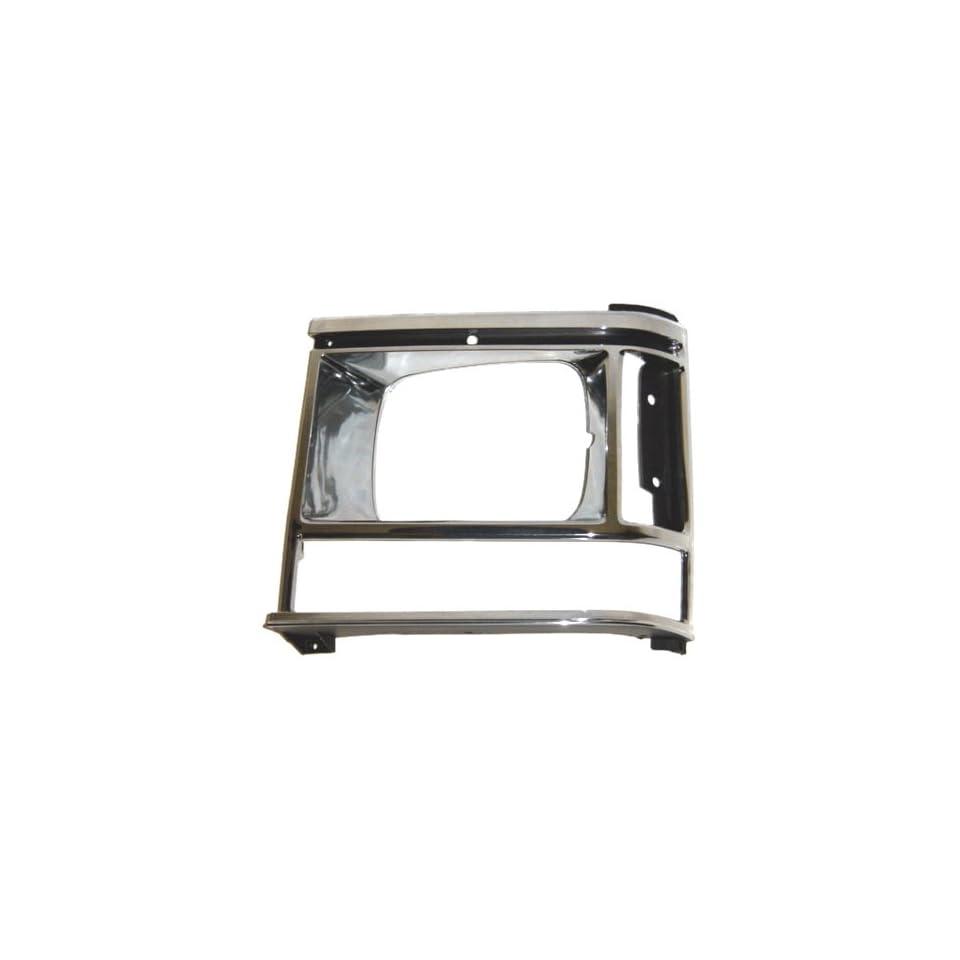 OE Replacement Dodge Caravan/Plymouth Voyager Driver Side Headlight Door (Partslink Number CH2512107)